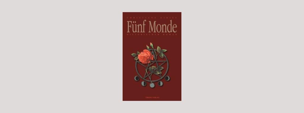 Cover Christiane Gibiec: Fünf Monde. Foto: Emons