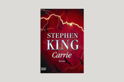 Cover Stephen King: Carrie. Foto: Bastei Lübbe