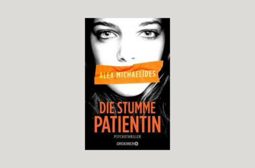 Cover Alex Michaelides: Die stumme Patientin. Foto: Droemer
