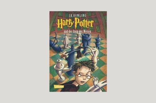 Cover Joanne K. Rowling: Harry Potter und der Stein der Weisen. Foto: Carlsen