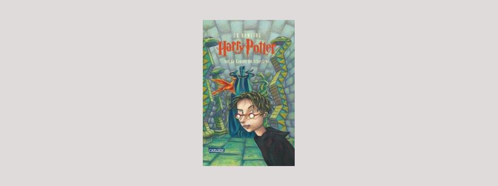 Cover Joanne K. Rowling: Harry Potter und die Kammer des Schreckens. Foto: Carlsen