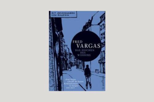 Cover Fred Vargas: Das Zeichen des Widders. Foto: Aufbau Taschenbuch