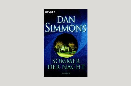 Cover Dan Simmons: Sommer der Nacht. Foto: Heyne