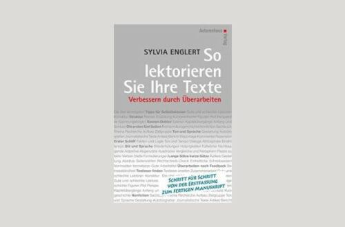 Cover Sylvia Englert: So lektorieren Sie Ihre Texte. Foto: Autorenhaus Verlag