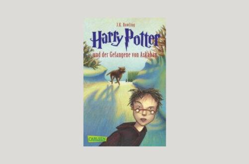 Cover Joanne K. Rowling: Harry Potter und der Gefangene von Askaban. Foto: Carlsen