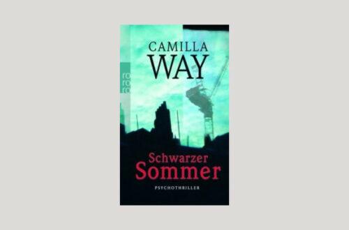 Cover Camilla Way: Schwarzer Sommer. Foto: Rowohlt