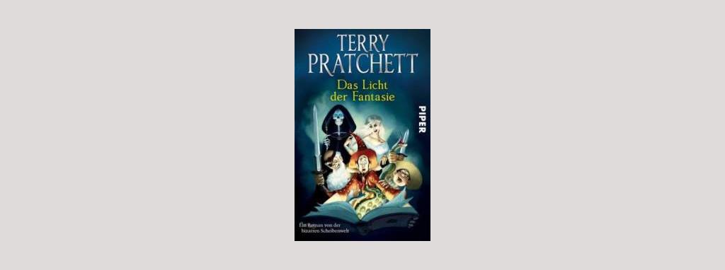 Cover Terry Pratchett: Das Licht der Fantasie. Foto: Piper