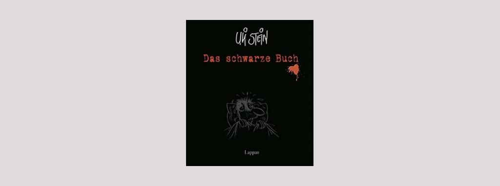 Cover Uli Stein: Das schwarze Buch. Foto: Lappan Verlag