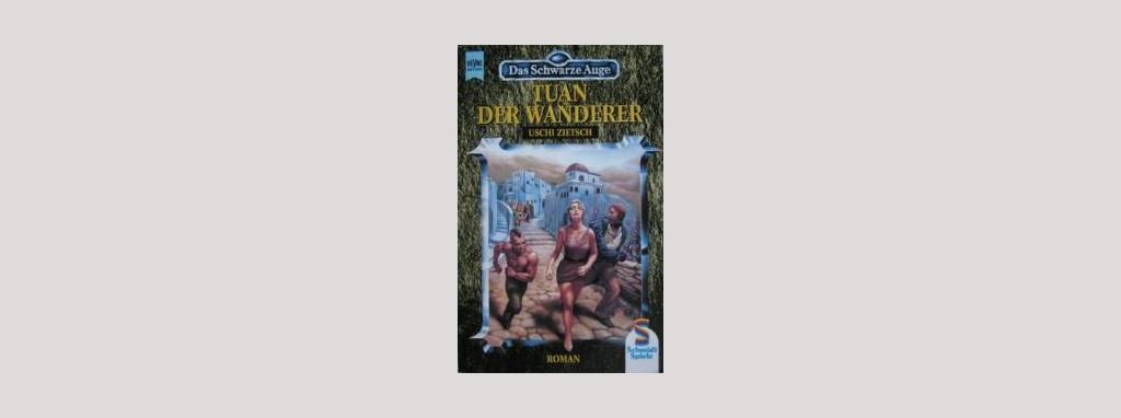 Cover Uschi Zietsch: Tuan der Wanderer. Foto: Heyne
