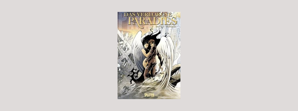 Cover Ange: Paradies. Foto: Splitter Verlag