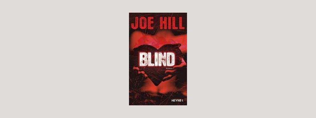 Cover Joe Hill: Blind. Foto: Heyne