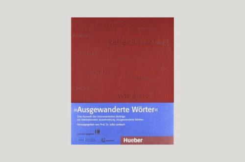 Cover Jutta Limbach: Ausgewanderte Wörter. Foto: Hueber