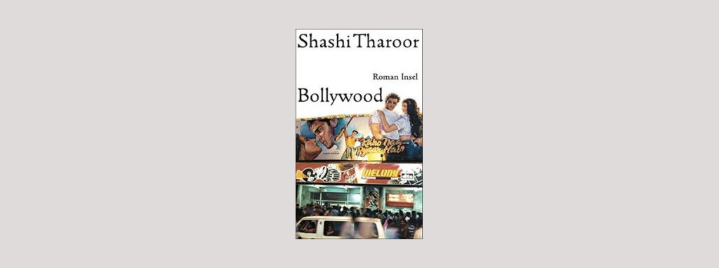 Cover Shashi Tharoor: Bollywood. Foto: Insel