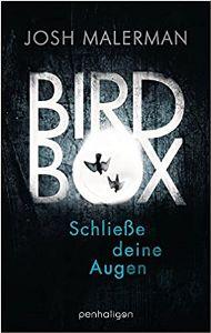 Cover Josh Malerman: Birdbox. Foto: Penhaligon