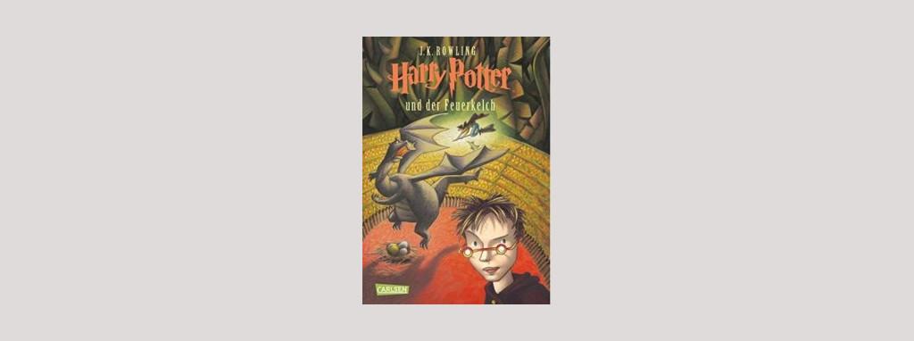Cover Joanne K. Rowling: Harry Potter und der Feuerkelch. Foto: Carlsen